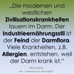 "Spruch des Tages 14. September 2018: ""Zivilisationskrankheiten"""