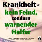 """Spruch des Tages 21. August 19: """"Bewusst und entspannt durch's Leben"""""""