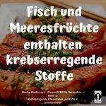"""Spruch des Tages 13. September 19: """"Krebsprävention durch Vermeidung falscher Lebensmittel"""""""