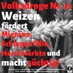 """Spruch des Tages 05. Juni 19: """"Volksdroge Nr. 2 Weizen"""""""
