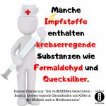 Krebs durch Vermeidun giftiger Medikamente vorbeugen – Spruch des Tages 09.10.2019