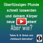 """Warum habe ich eine Wampe? / """"Fettbauch-Generation"""" von Tabou B. B. Braun"""