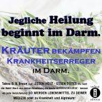 Kräuter bekämpfen Krankheitserreger im Darm / Spruch des Tages 18. Dezember 2019