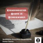 Krebs in Schreibwaren / Spruch des Tages 02. Juli 2020