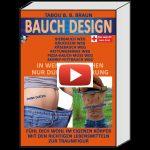 """Positive Einstellung für erfolgreiches Abnehmen / """"Bauch-Design"""" von Tabou B. B. Braun"""
